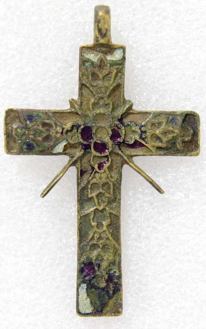Russian metal cross