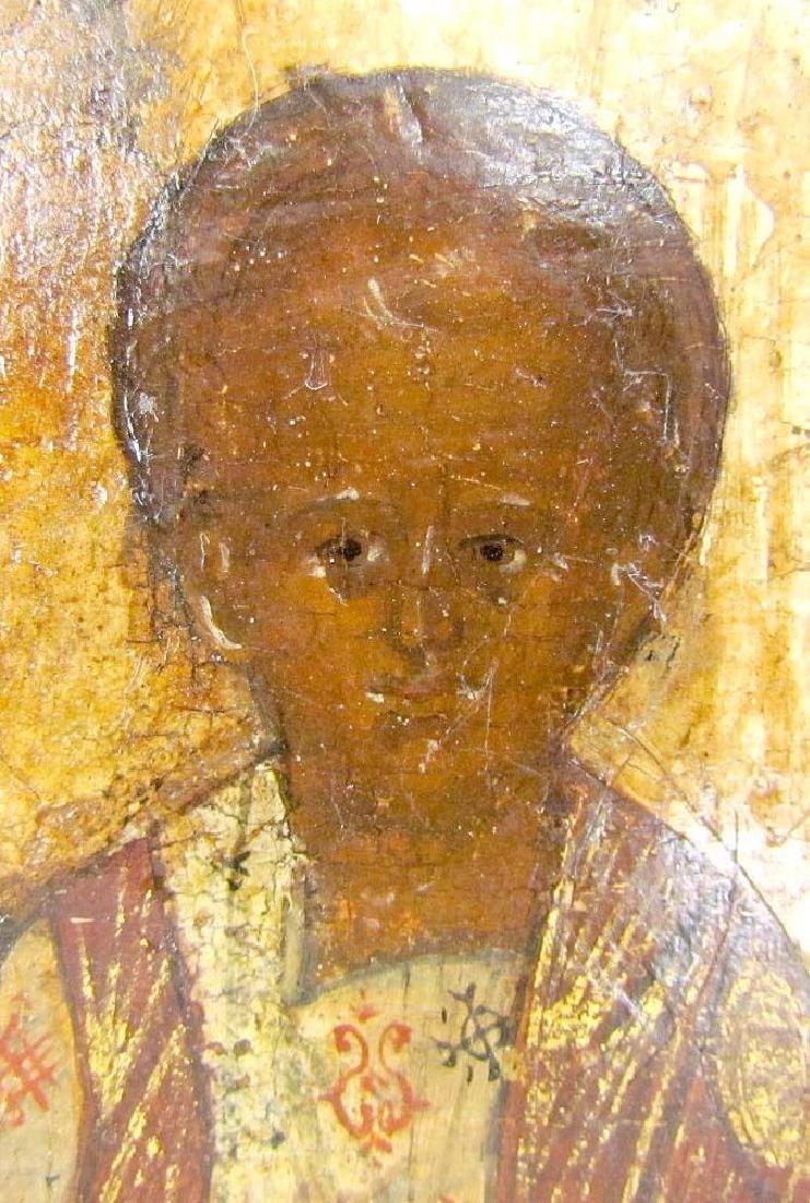 17th CENTURY ANTIQUE RARE RUSSIAN ICON of SMOLENSK - 3