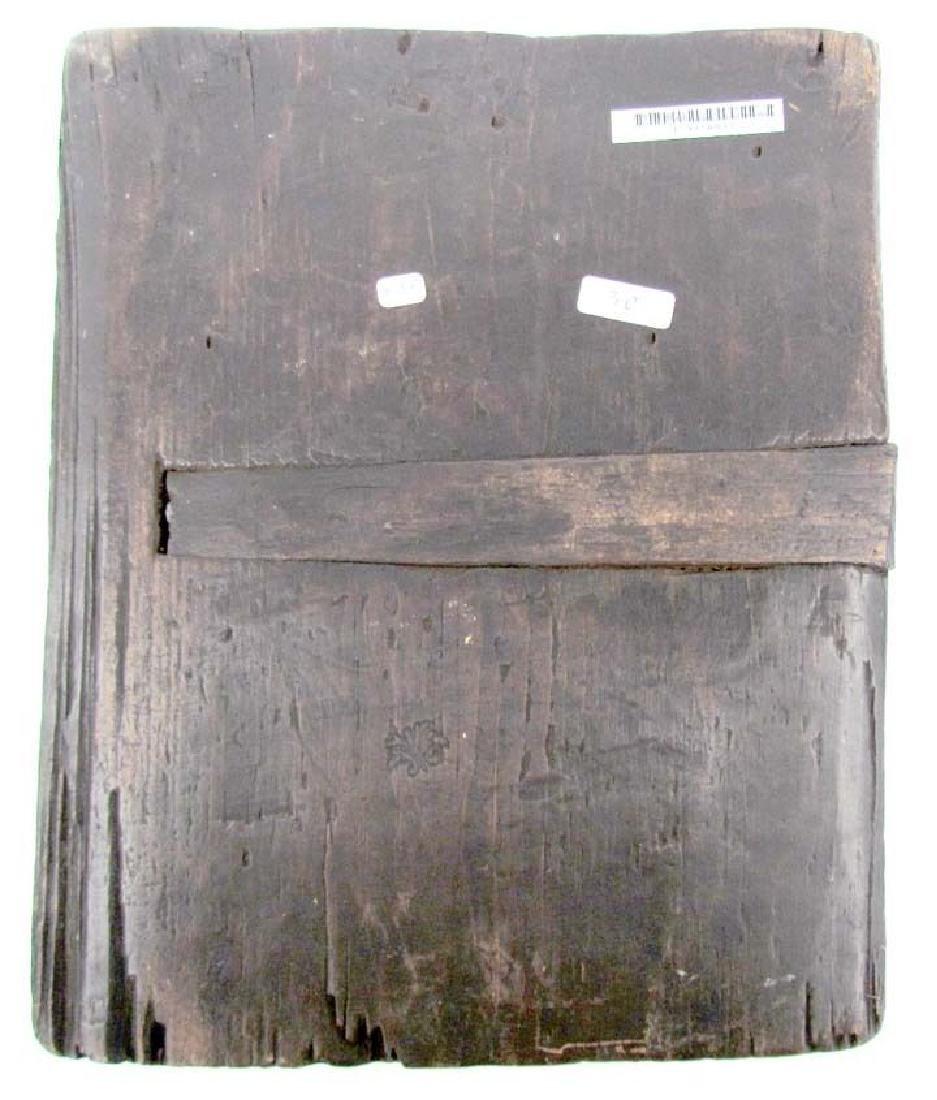 17th CENTURY ANTIQUE RARE RUSSIAN ICON of SMOLENSK - 4