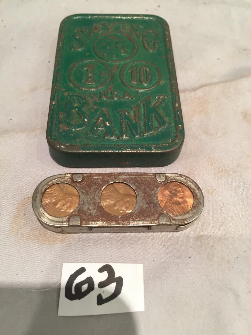 """""""Coin"""" Tins Bank"""
