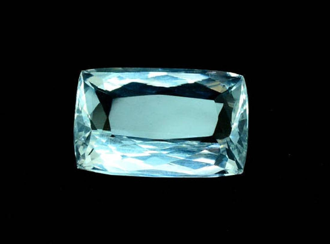 14.04 cts Aquamarine certified loose gemstone (MR)