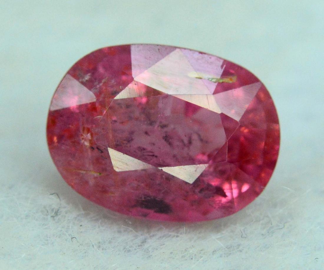 2.70 carats rubelite tourmaline loose gemstone