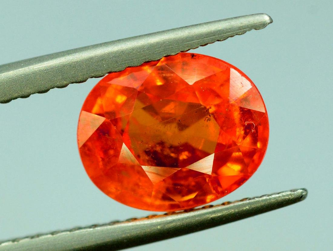 2.65 cts spessartite garnet loose gemstone