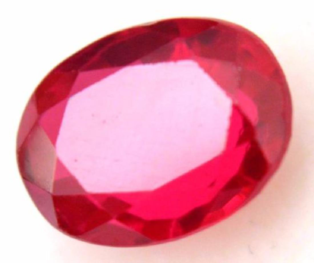 4.30 Ct Natural Blood Red Mozambique Ruby GGL Certified - 3