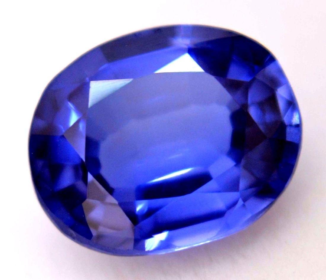 Amazing 5.20 Ct Natural Ceylon Blue Sapphire AGSL