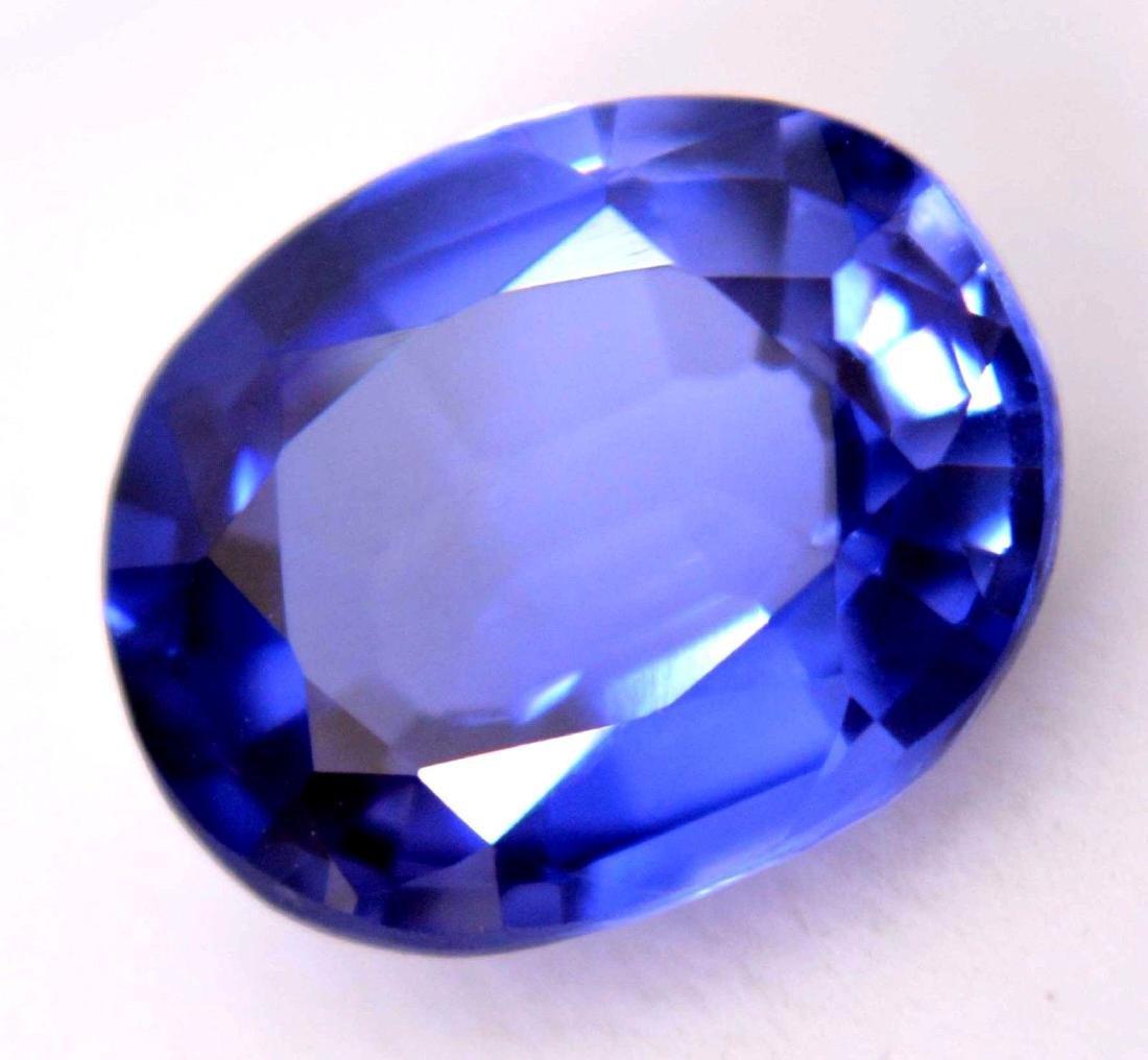Amazing 5.20 Ct Natural Ceylon Blue Sapphire AGSL - 3