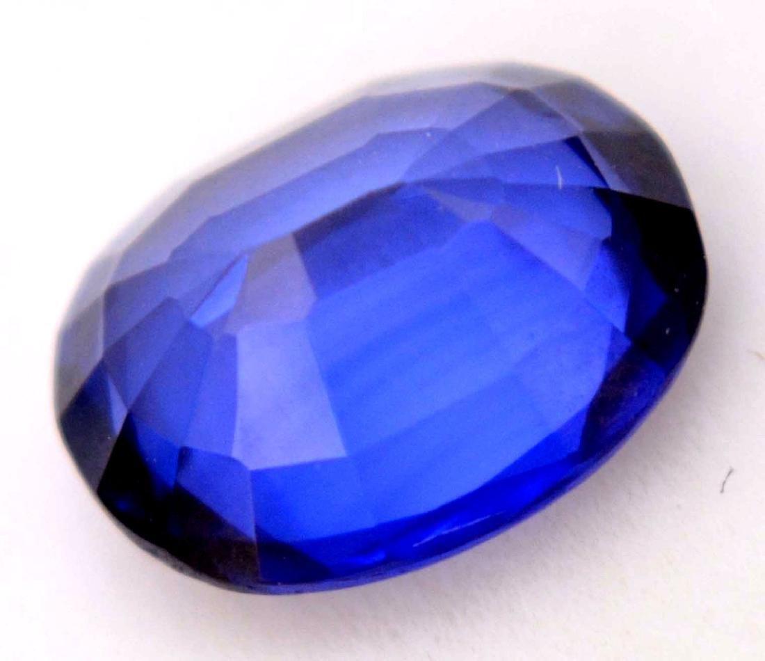 Amazing 5.20 Ct Natural Ceylon Blue Sapphire AGSL - 4