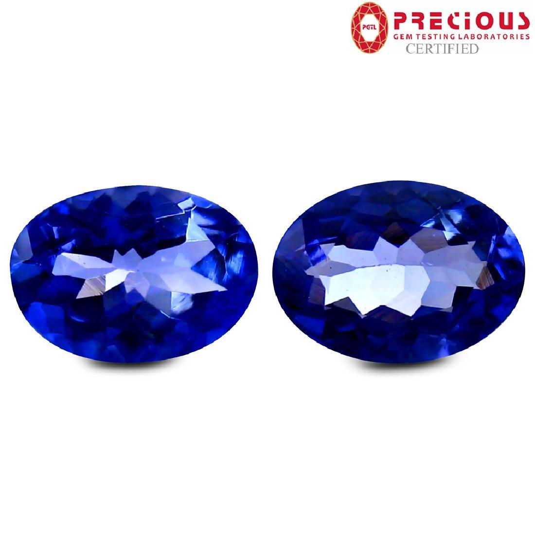 2.01 ct PGTL Certified Valuable Oval Shape Purplish