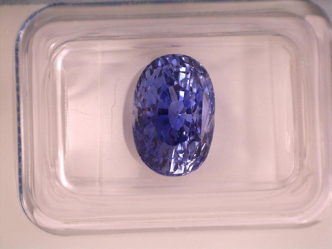 Cornflower  Blue Sapphire 5.15 - 7