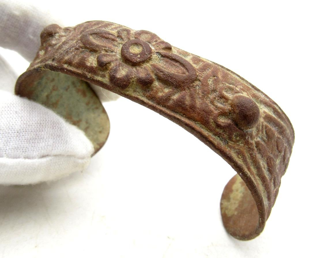 Late Medieval Tudor Era Bronze Fertility Bracelet