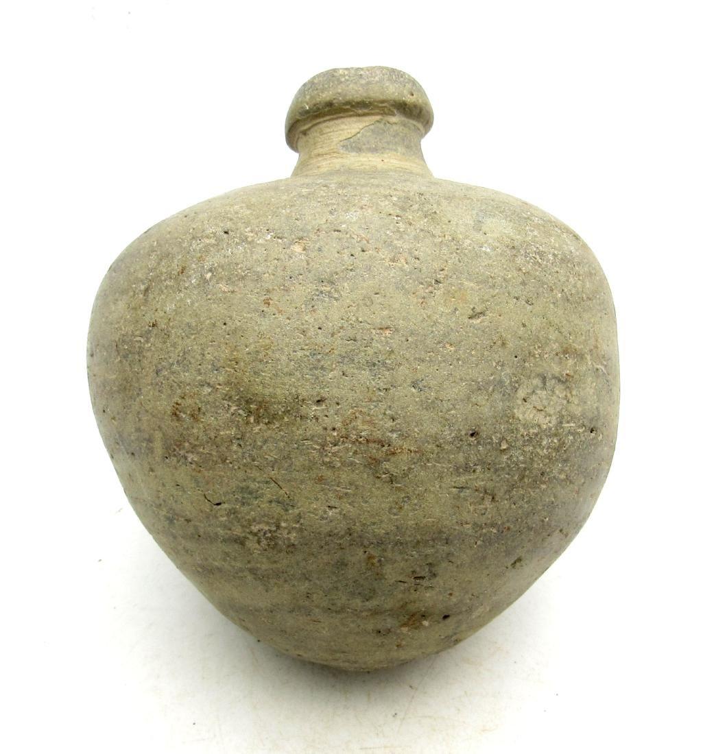 "Ancient Byzantine Clay ""Greek Fire"" Grenade"