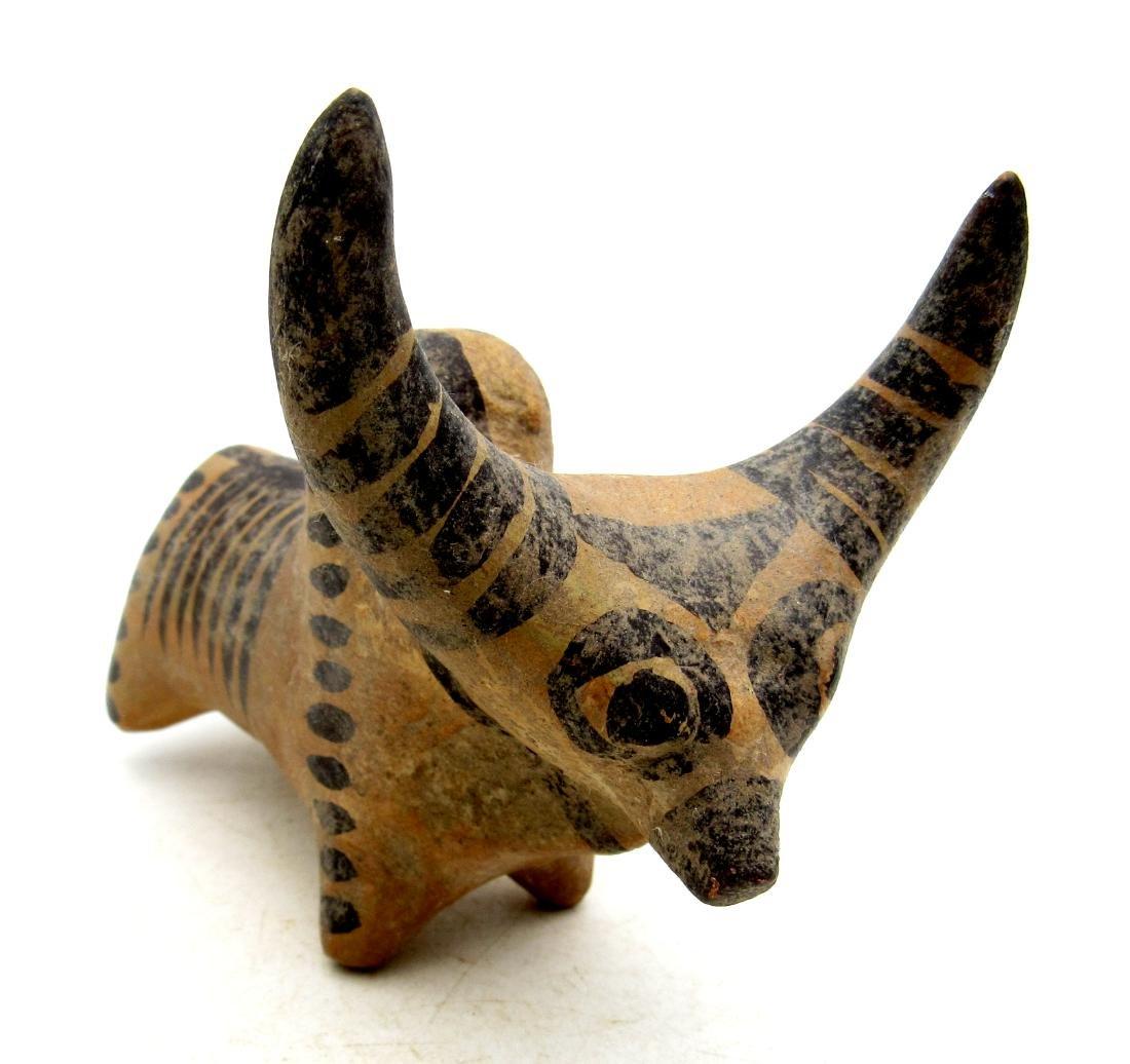 Ancient Indus Valley Terracotta Bull Idol