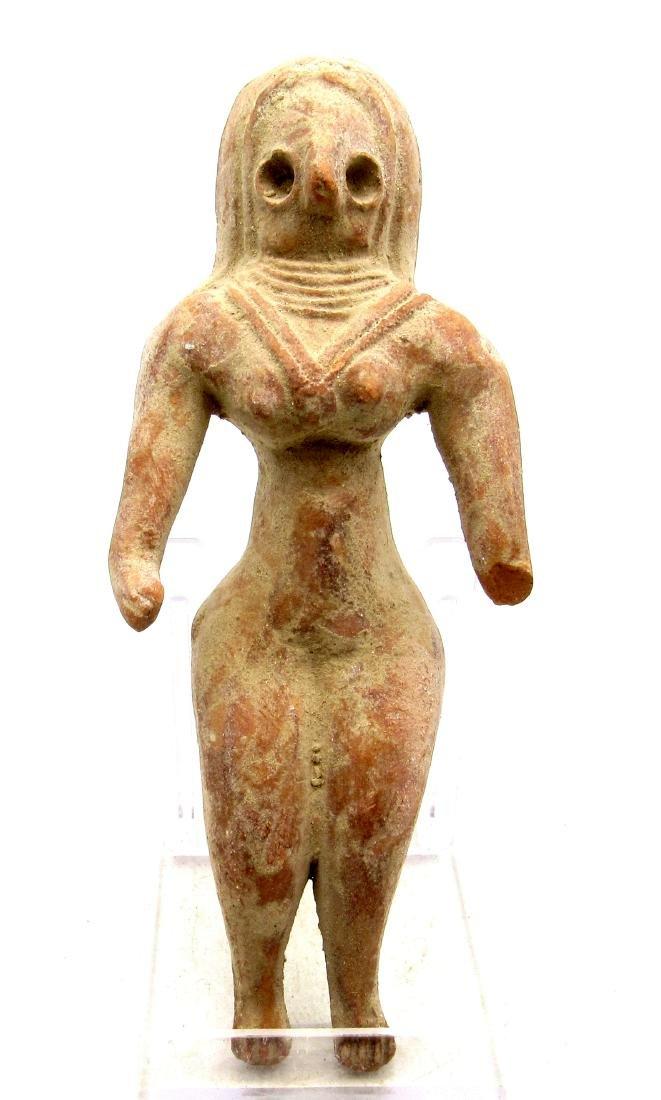 Ancient Indus Valley Terracotta Female Idol