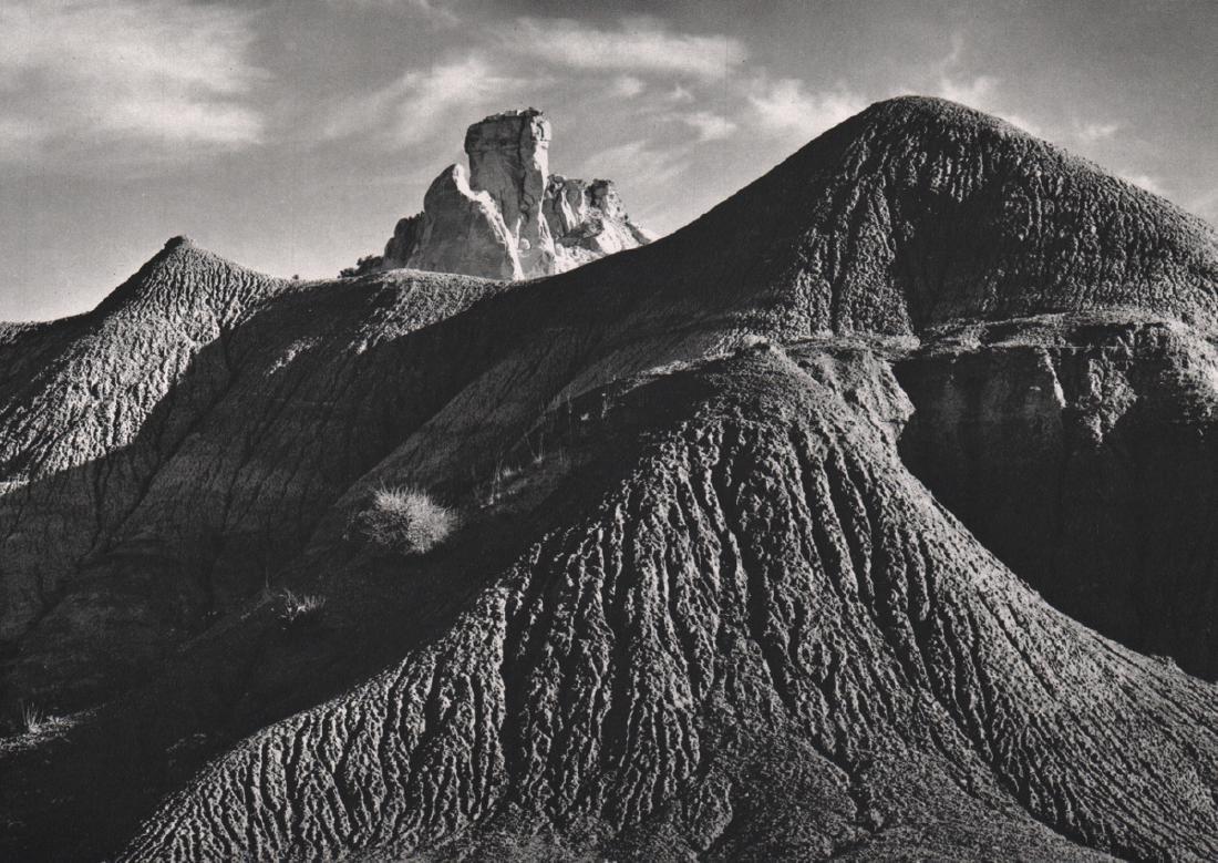 ANSEL ADAMS - Mud Hills near Abiquiu, NM