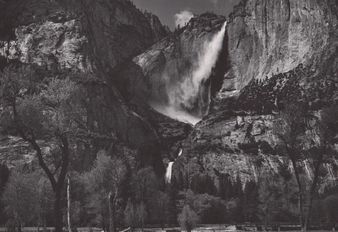 ANSEL ADAMS - Yosemite Falls