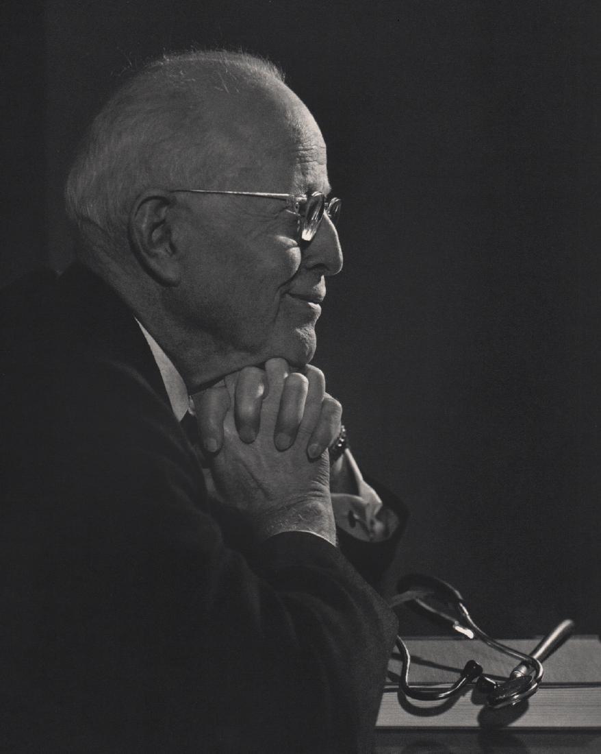 YOUSUF KARSH - Walter Clement Alvarez