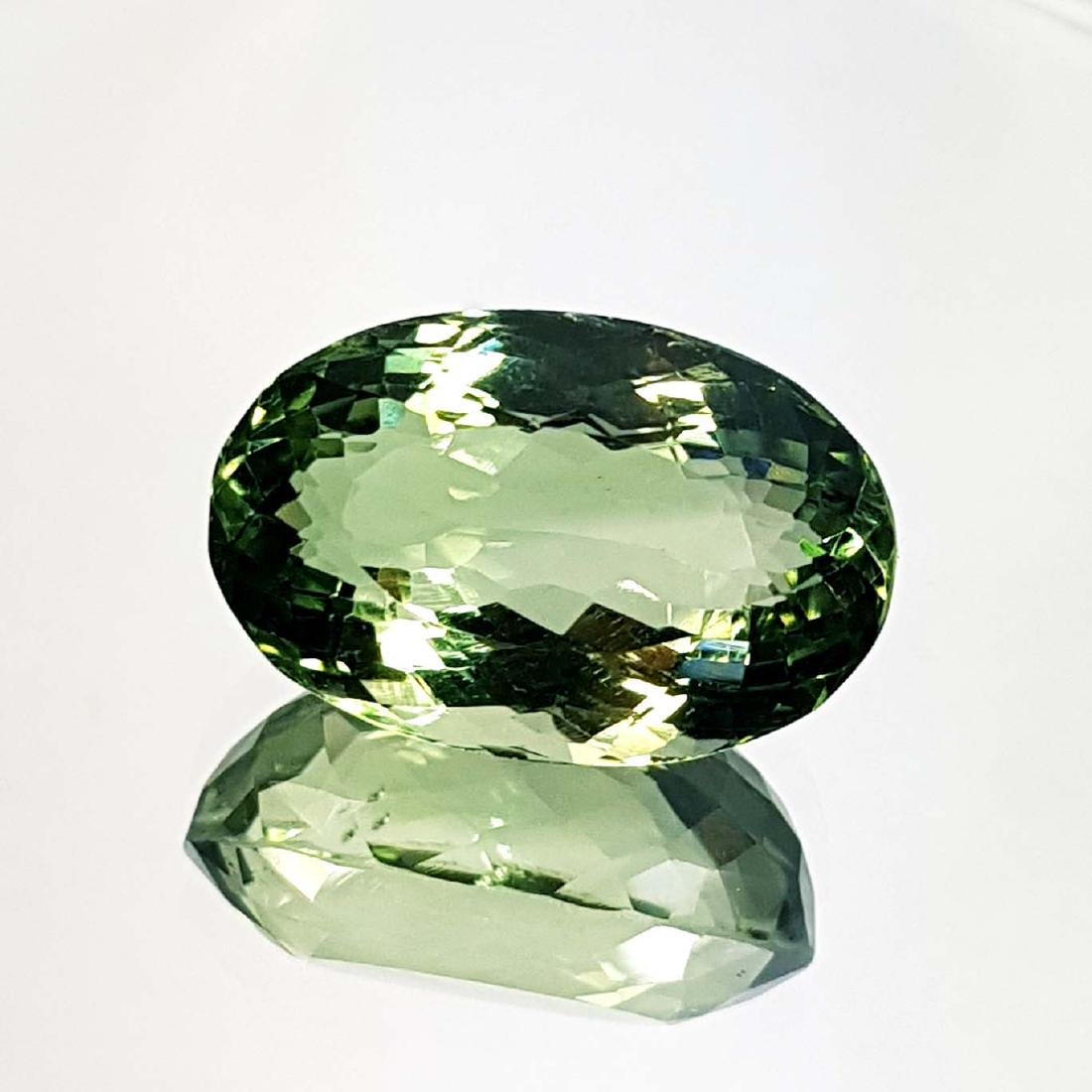 Green Amethyst - 19.74 ct