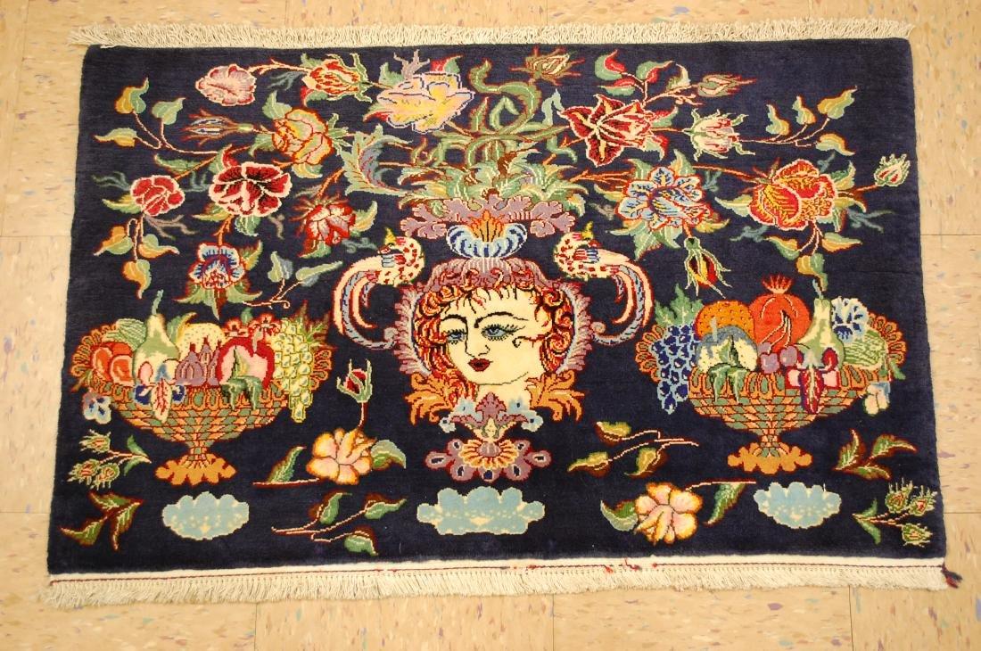 Persian Sarouk Rug 3.6x5.6