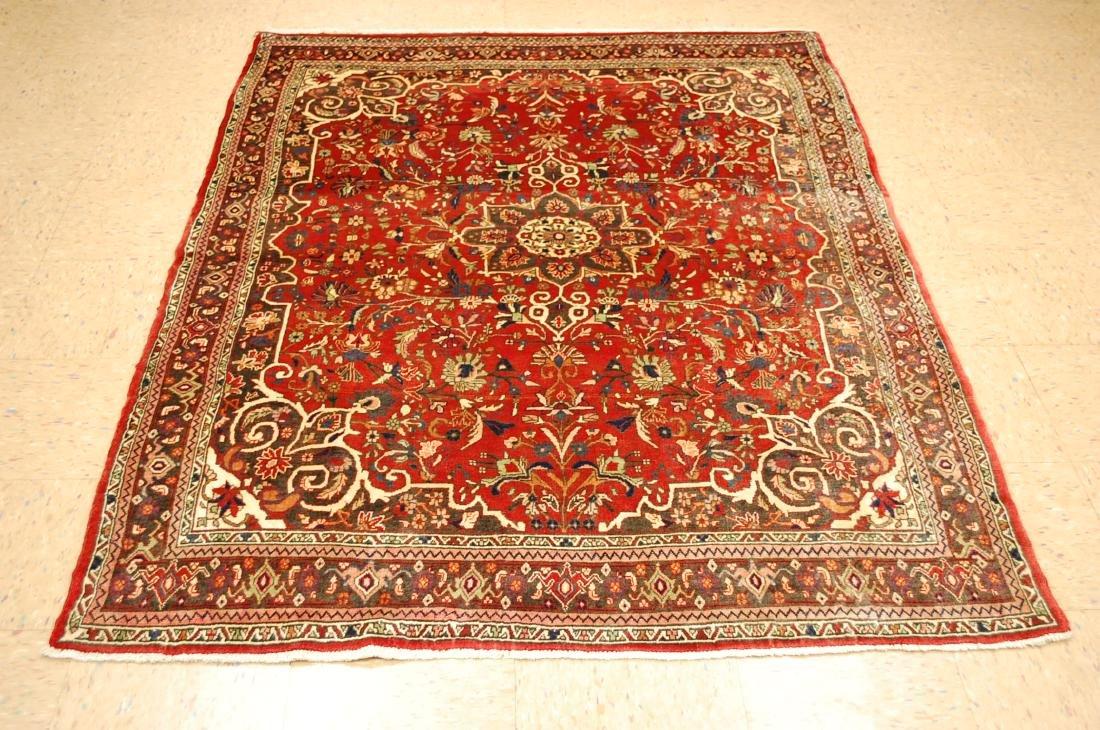 Persian Bijar Rug 4.9x6.6