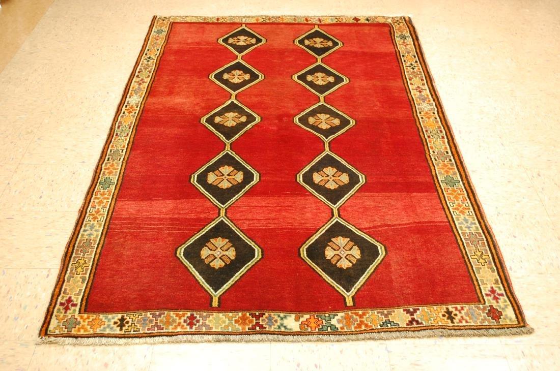 Persian Shiraz Qashkai Rug 4.4x8.1