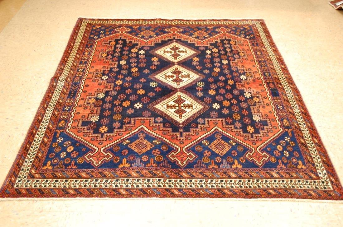 Caucasian Kazak shirvan Design Caucasian Rug 5.3x7.4