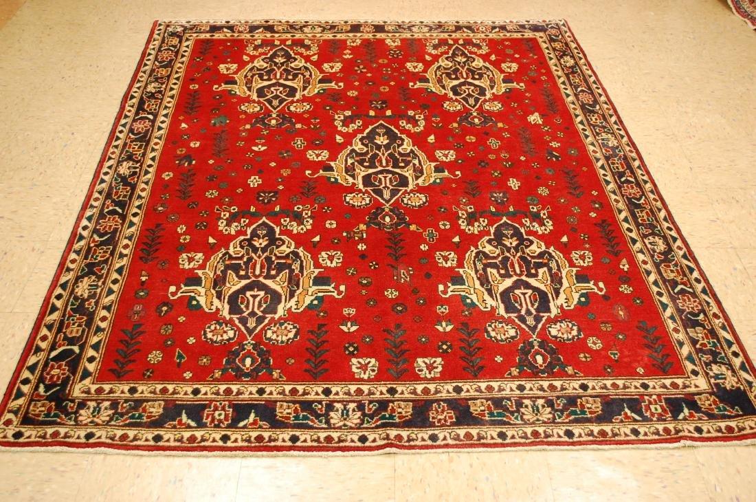 Persian Heriz Serapi Rug 5.5x7.4