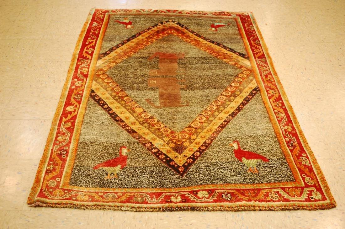 Persian Shiraz Qashkai Rug 4.8x6.8