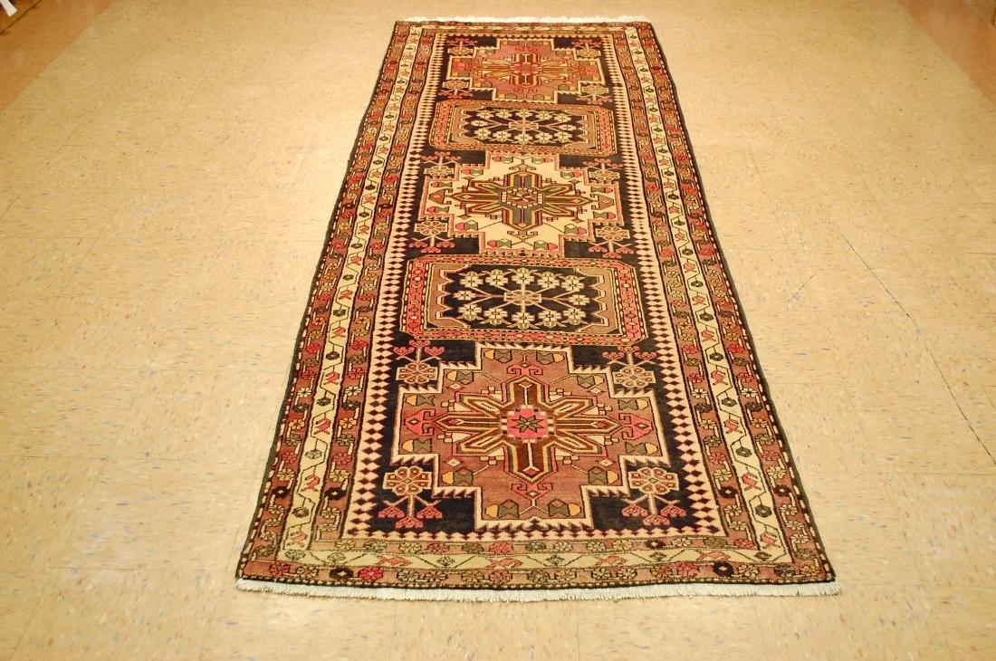 Caucasian Kazak Design Caucasian Rug 3.6x10.2