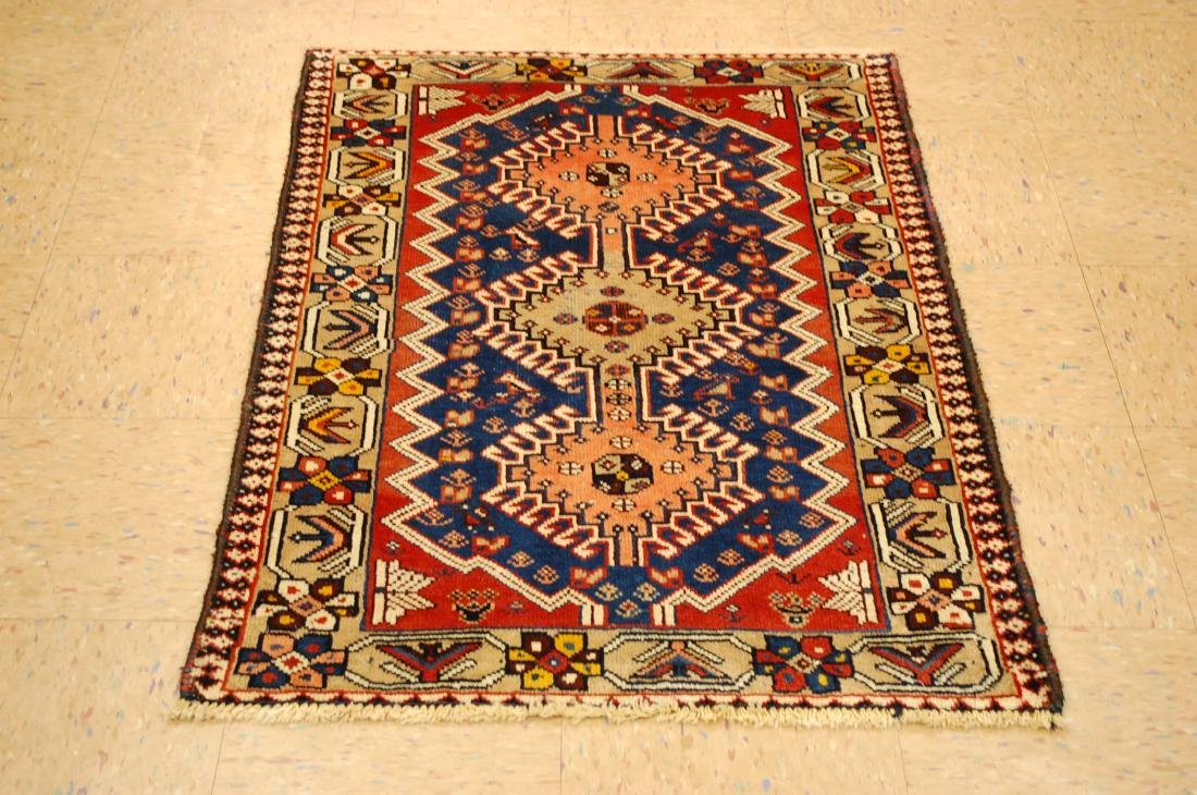 Persian Shiraz Qashkai Rug 2.8x4