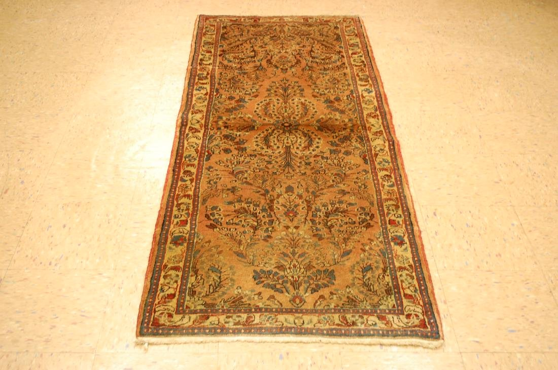 Detailed Design Persian Sarouk Rug 2.8x6.10