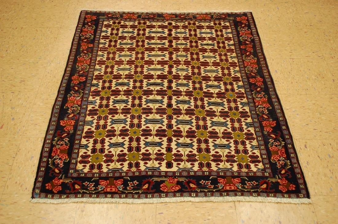Persian Bijar Rug 3.7x4.8