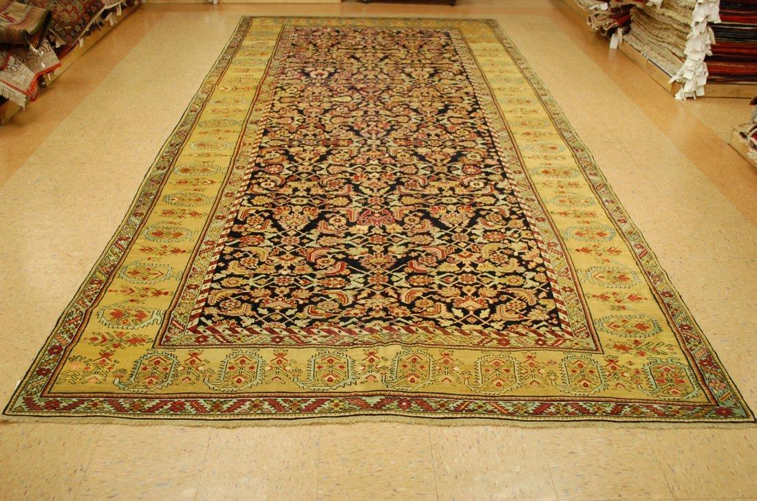 Antique Persian Heriz Bakhshayesh Bakhshaish Rug 7.3x16