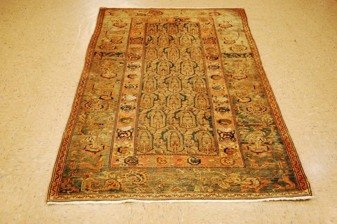 Antique Ultra Persian Mishan Malayer Rug 4x6.5
