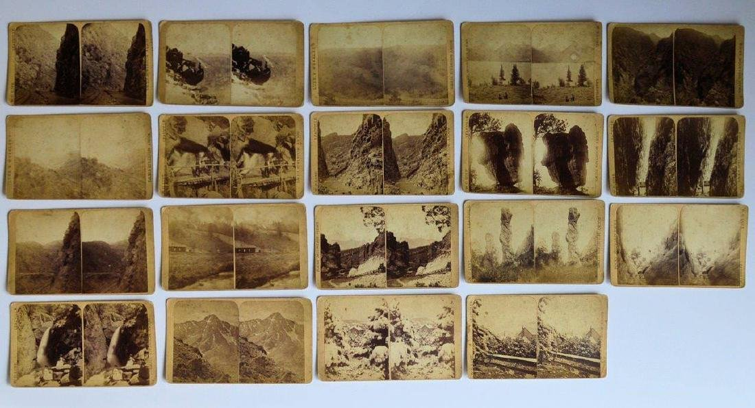Lot 19 1880s Rocky Mountain Grand Canyon Leadville