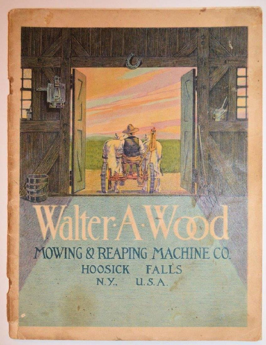 1914 Catalog Walter a Wood Mowing Reaping Machine Co