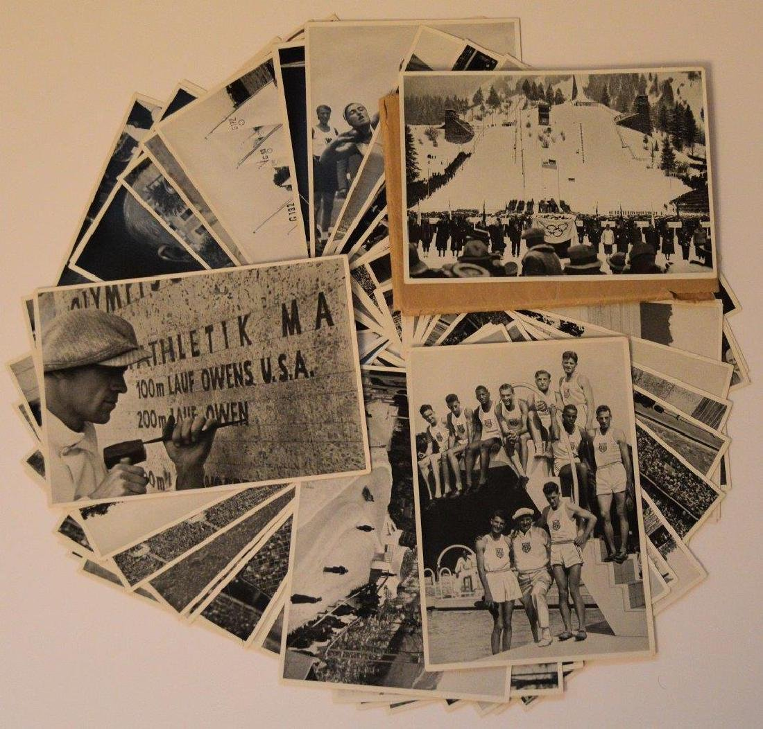 Original Lot 45 Olympic Views 1936 Berlin Germany