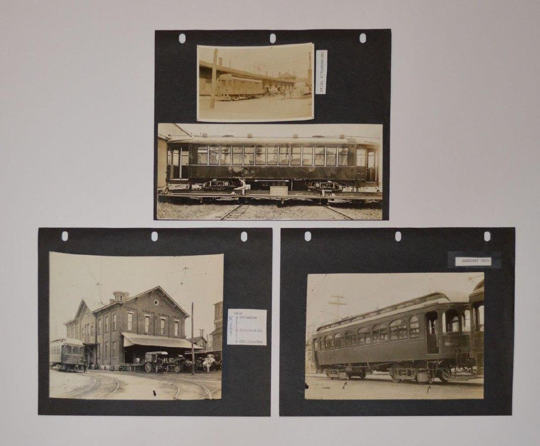 Lot 8, C1920s Railroad Train Views, Oregon Oakland