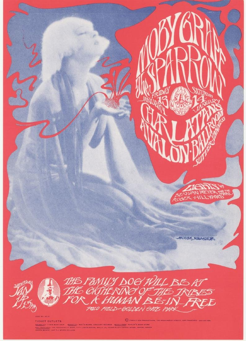 1st Edition - FD 43 MOBY GRAPE - AVALON BALLROOM