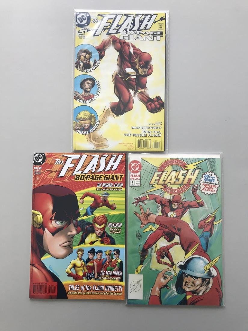 Lot of 3 Flash 80-Page Giant (1998) #1 2 Flash Special