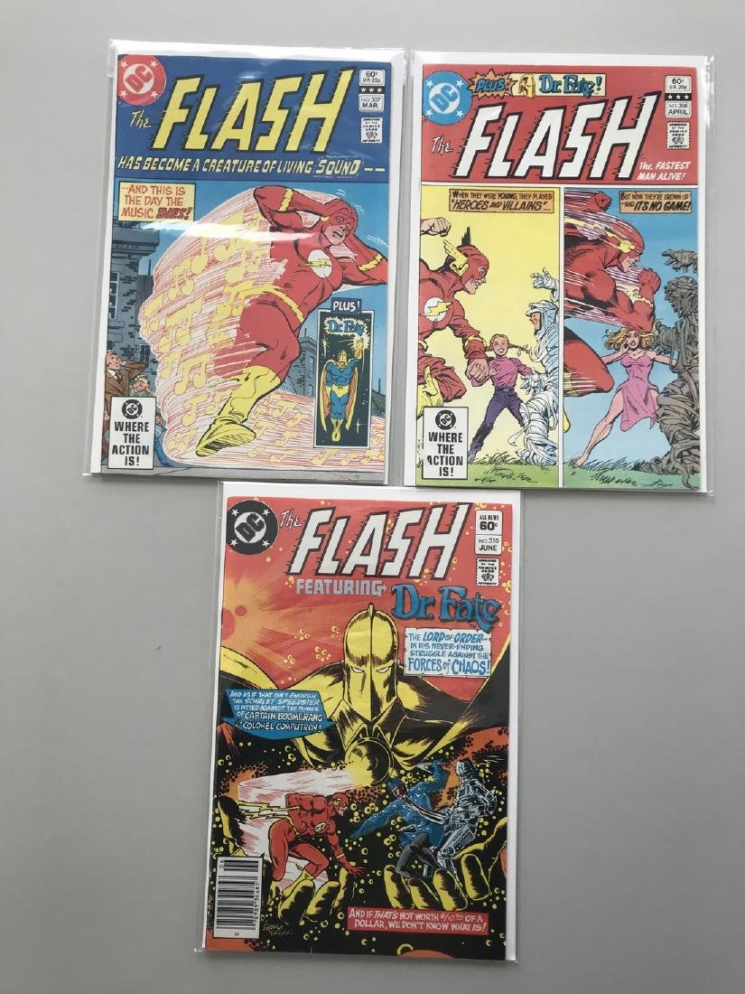 Lot of 3 Flash (1959 1st Series DC) #307 308 310 VF