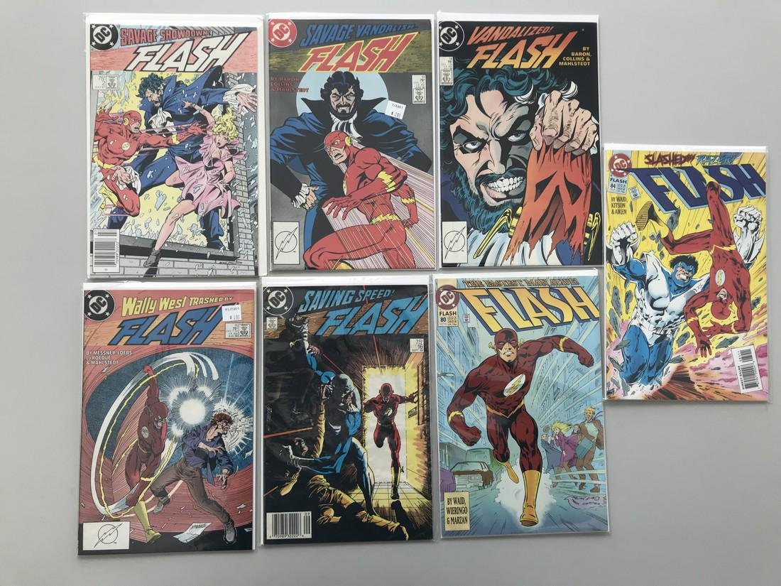 Lot of 14 Flash (1987 2nd Series) 2 13-16 80 84 88 127