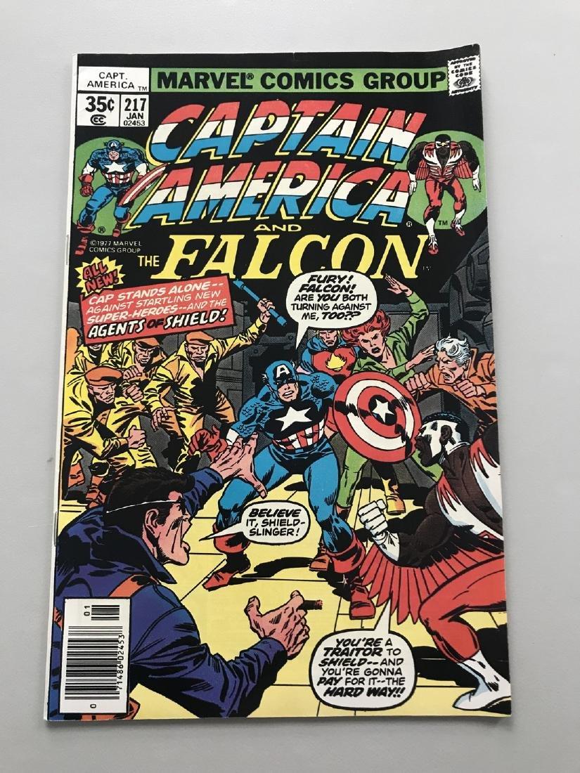 Captain America (1968 1st Series) #217 1st App Marvel
