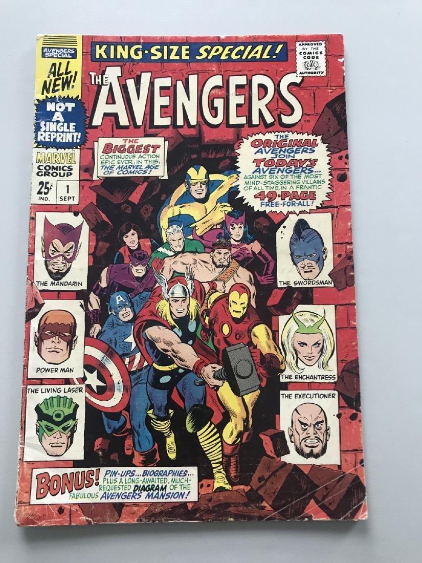 Avengers (1963 1st Series) Annual #1
