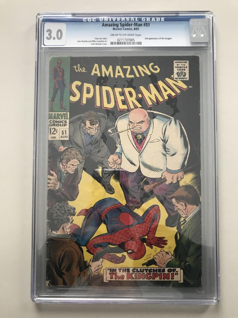 Amazing Spider-Man (1963 1st Series) #51 2nd Kingpin