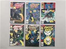 Lot of 6 Ghost Rider (1990 2nd Series) #1-6 8 VF