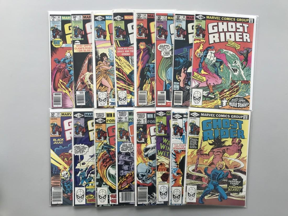 Lot of 27 Ghost Rider (1973 1st Series) from #50-80 VF