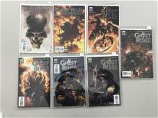 Lot of 7 Ghost Rider Trail of Tears (2007) #1 6 Ghost