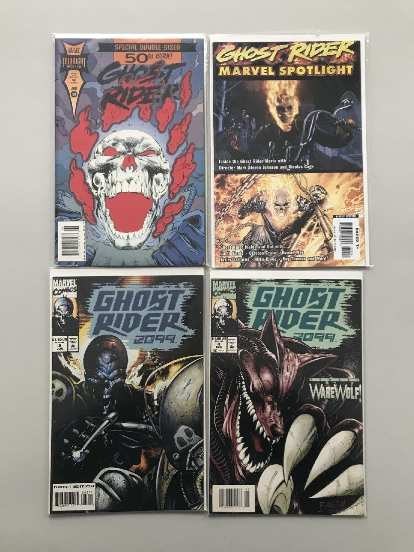 Lot of 8 Ghost Rider (1990 2nd Series) #50 Marvel