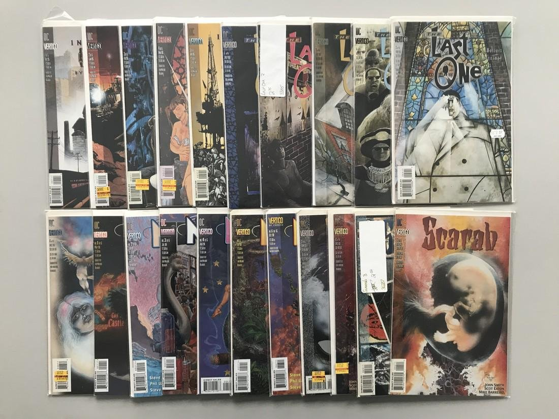 Complete Sets Lot of 49 Industrial Gothic 1-5 Last One