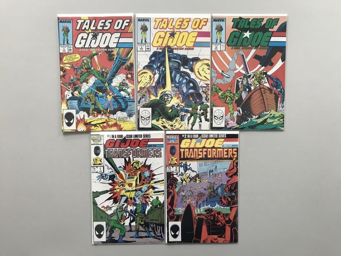 Lot of 10 Tales of GI Joe (1988) #1 3 12 GI Joe and the